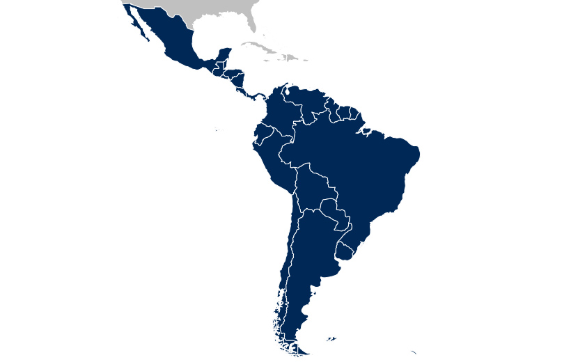 Mexico, Central & South American Installer Territories
